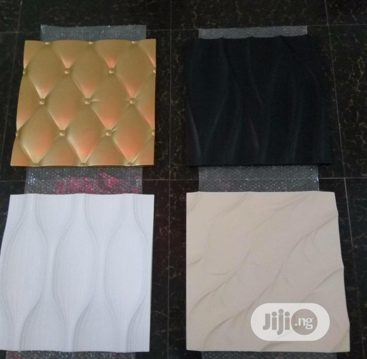 3D Panel Now Available. Fracan Wallpaper Ltd Abuja