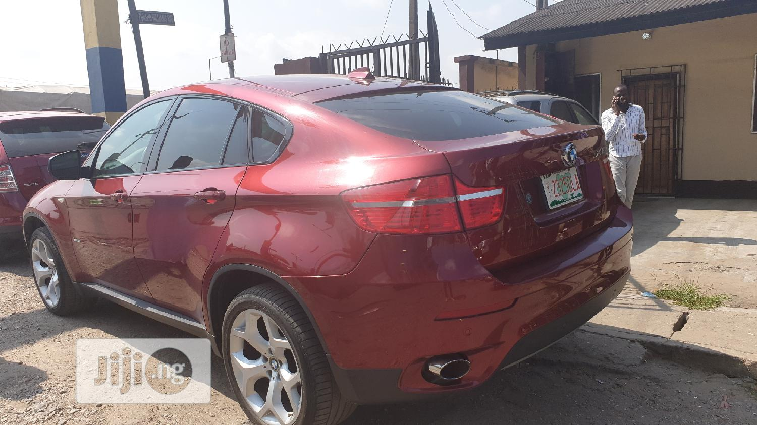 BMW X6 2009 xDrive 35i Red | Cars for sale in Surulere, Lagos State, Nigeria