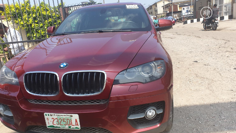 BMW X6 2009 xDrive 35i Red