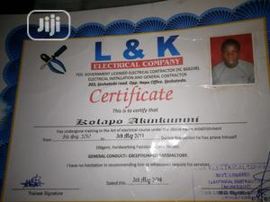 Electrical installation   Construction & Skilled trade CVs for sale in Lagos State, Surulere