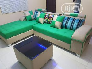 Executive Special Design 5seaters Lshape With Center Table | Furniture for sale in Lagos State, Maryland