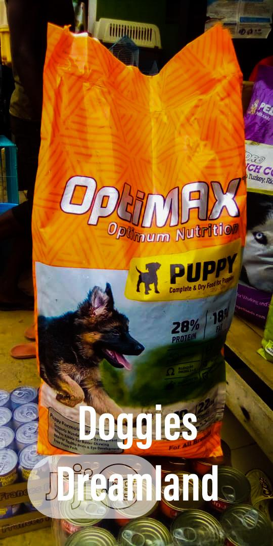 Optimax Puppy 10kg | Pet's Accessories for sale in Kubwa, Abuja (FCT) State, Nigeria