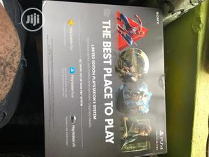 Ps4 Slim Console 1TB Days of Play (Grey Gold Limited Editio | Video Game Consoles for sale in Lagos State, Ikeja
