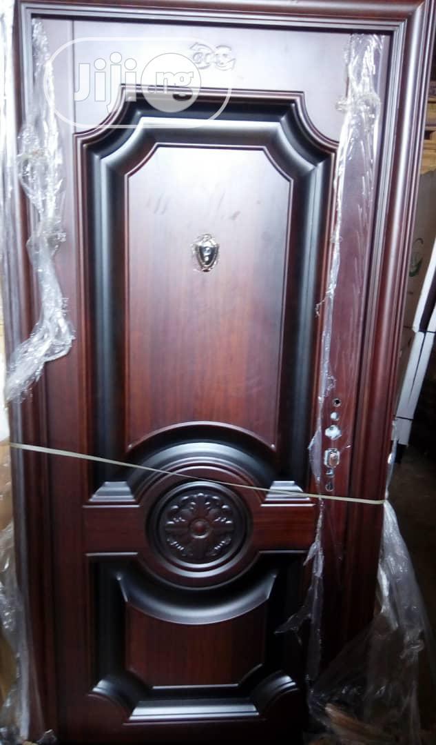China Steel 70mm Door