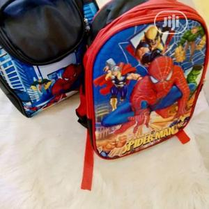 Spiderman School Bag And Lunch Bag | Babies & Kids Accessories for sale in Lagos State