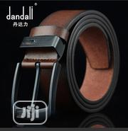 Genuine Leather Pin Buckle Belt for Men Business | Clothing Accessories for sale in Lagos State, Amuwo-Odofin