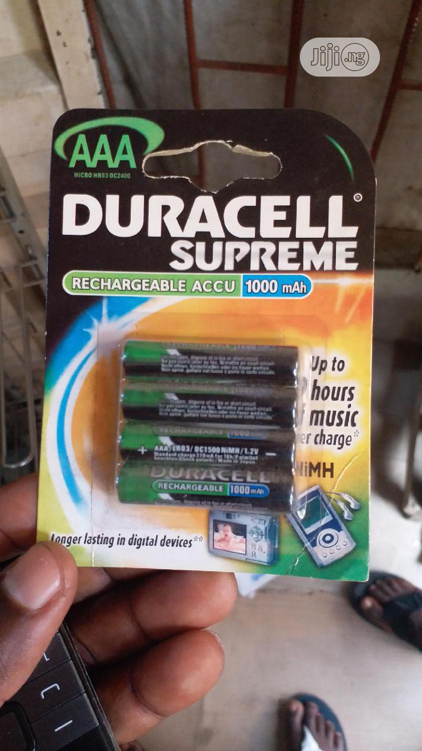 Duracell Battery AAA And AA Both Alkaline