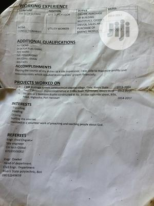 Advertising & Marketing CV | Advertising & Marketing CVs for sale in Rivers State, Port-Harcourt