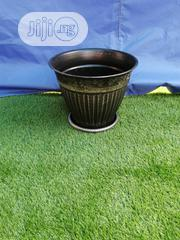 Black Metal Flower Pot For Sale | Garden for sale in Cross River State, Odukpani
