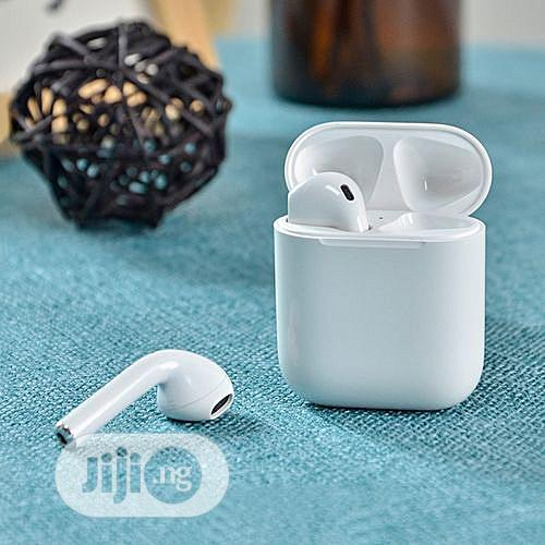 I12 Tws Automatic Connect Wireless Earphones (Touch Control) Headset | Headphones for sale in Ikeja, Lagos State, Nigeria