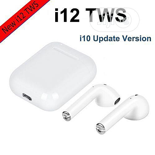 I12 Tws Automatic Connect Wireless Earphones (Touch Control) Headset
