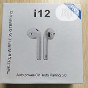 I12 Tws Automatic Connect Wireless Earphones (Touch Control) Headset | Headphones for sale in Lagos State, Ikeja