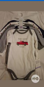 Set Of 5 Hudson Baby Long Sleeve Bodysuit.9-12m | Children's Clothing for sale in Lagos State, Gbagada