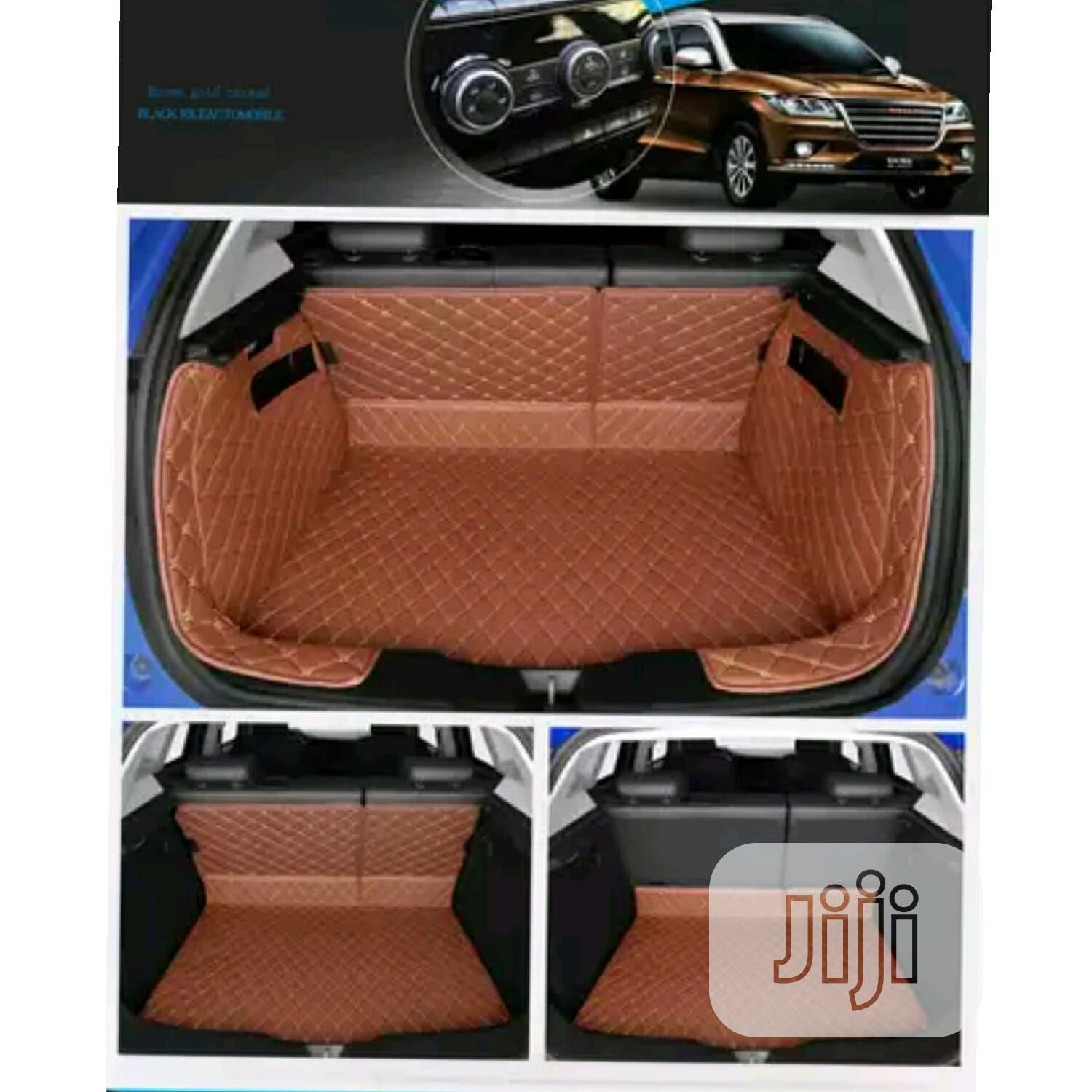 Customize PU Leather Booth Mat For Acura ZDX