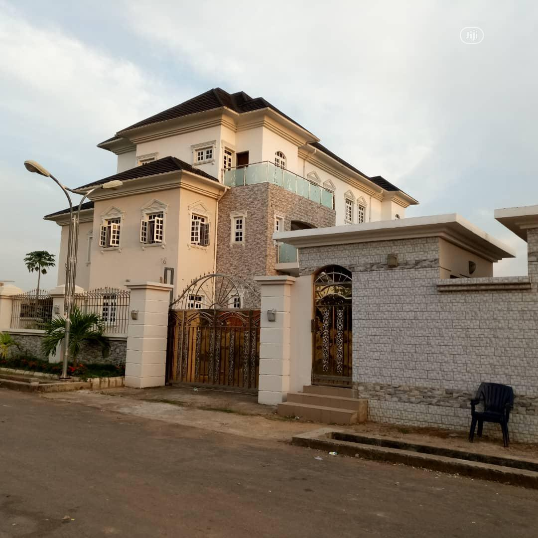 10bedroom Ensuit Mansion Located In A Serene Environ.@ Mabushi Abuja.