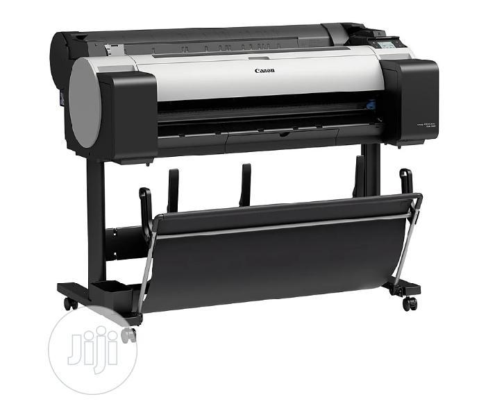 Canon Large Format Printer TM-300 + Stand in Ikeja - Printing Equipment,  Chuks Pee International Ltd | Jiji.ng