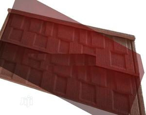 Quality Roman Gerard Stone Coated Roof (Aluminium Gutter)   Building Materials for sale in Lagos State, Yaba