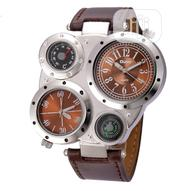 Oulm Oulm Men Watches Antique Male Quartz Watch 2019 Brand | Watches for sale in Lagos State