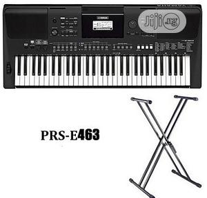Yamaha Psr -E463 Yamaha Keyboard With Stand And Adapter   Musical Instruments & Gear for sale in Lagos State, Ojo