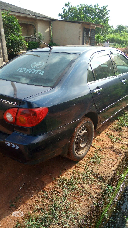 Toyota Corolla 2004 Sedan Automatic Blue   Cars for sale in Victoria Island, Lagos State, Nigeria