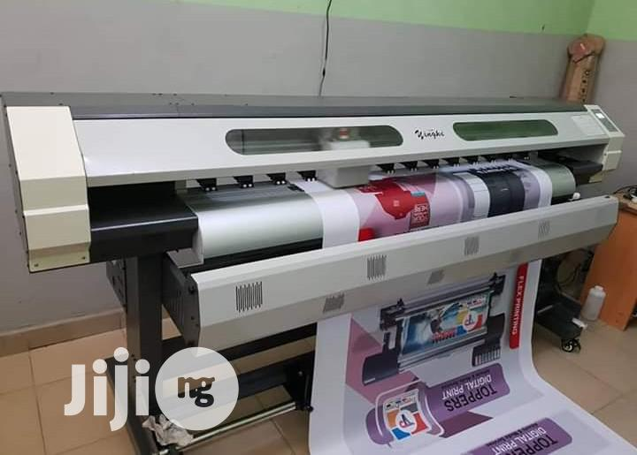 Archive: Brand New 6ft Yinghe Eco Solvent Large Format Machine