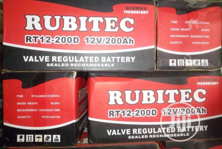200ah ,12v Rubitec Battery