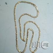 Solid ITALY 750 Tested 18karat Gold Levis Design Long | Jewelry for sale in Lagos State, Lagos Island