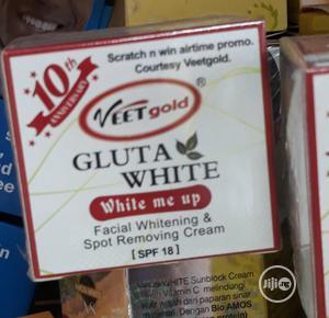 Veet Gold Gluta White Fast Spot Remover Face Cream | Skin Care for sale in Lagos State