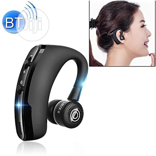 Can Connect to 2 Phones Premium Bluetooth Headset - V9 - Black