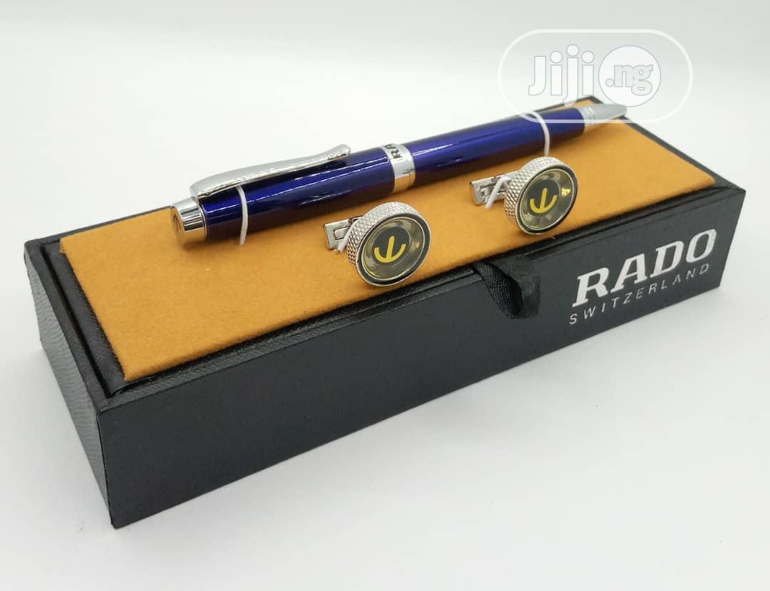 Archive: Rado Pen With Cufflinks.