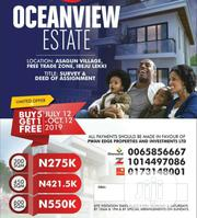 Residential Land at Oceanview Estate Ibeju Lekki For Sale. | Land & Plots For Sale for sale in Lagos State, Ibeju
