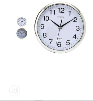 1080p Wifi Spy Hidden Wall Clock Camera Ios Android | Security & Surveillance for sale in Lagos State, Ikeja