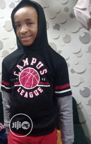Hooded Longsleeve T-Shirt   Children's Clothing for sale in Lagos State, Ikeja
