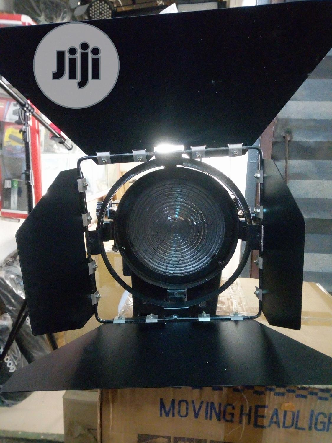 Fresnel Spot Light 1000w With Dimmer And Big Light Stand