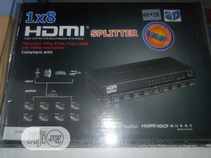 High Quality 3D 8 Ways HDMI Spliter   Accessories & Supplies for Electronics for sale in Lagos State, Ojo