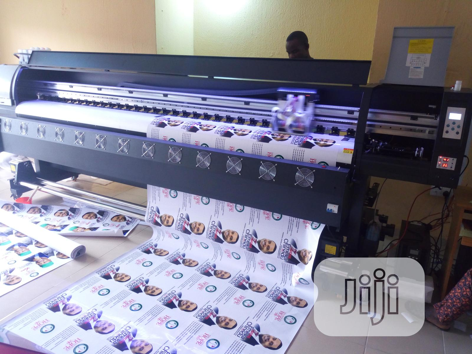 Brand New 10ft 3.2m Yinghe Eco Solvent Large Format Printing Machine | Printing Equipment for sale in Ikeja, Lagos State, Nigeria