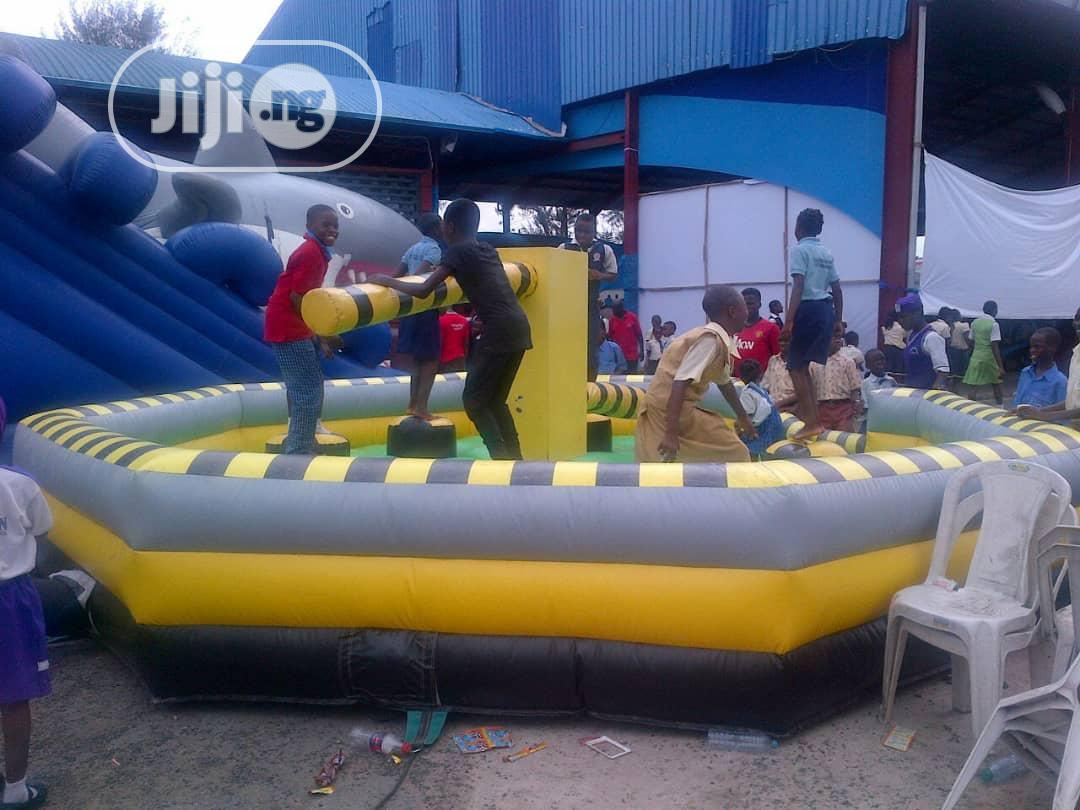 Rodeo Bull & Soapy Football | Party, Catering & Event Services for sale in Lagos Island, Lagos State, Nigeria