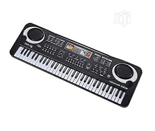 61 Keys Electronic Piano Keyboard With Microphone Children Musical