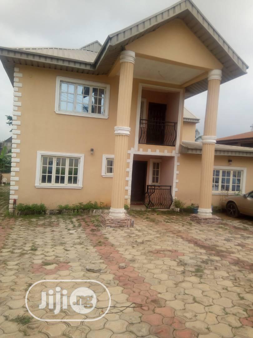 5 Bedroom Duplex With B/Q At Akala Estate Akobo Ibadan
