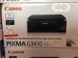 Exceptionally Pixma G3410 Scan Copy Print Wifi | Printers & Scanners for sale in Lagos State, Ikeja