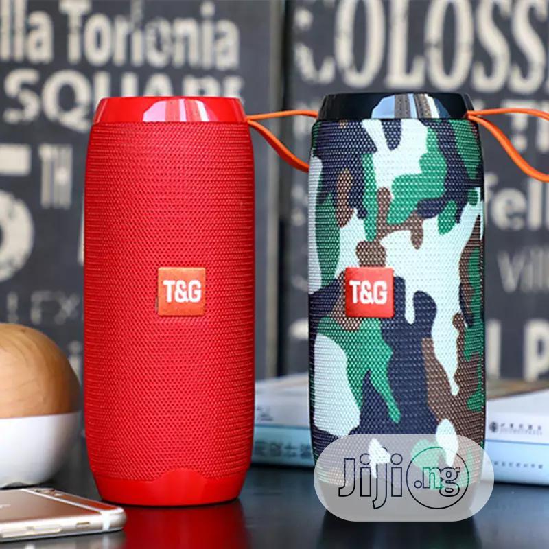 TG 106 New Bluetooth Bass Speaker Portable Outdoor Sport Loudspeaker   Audio & Music Equipment for sale in Ojo, Lagos State, Nigeria