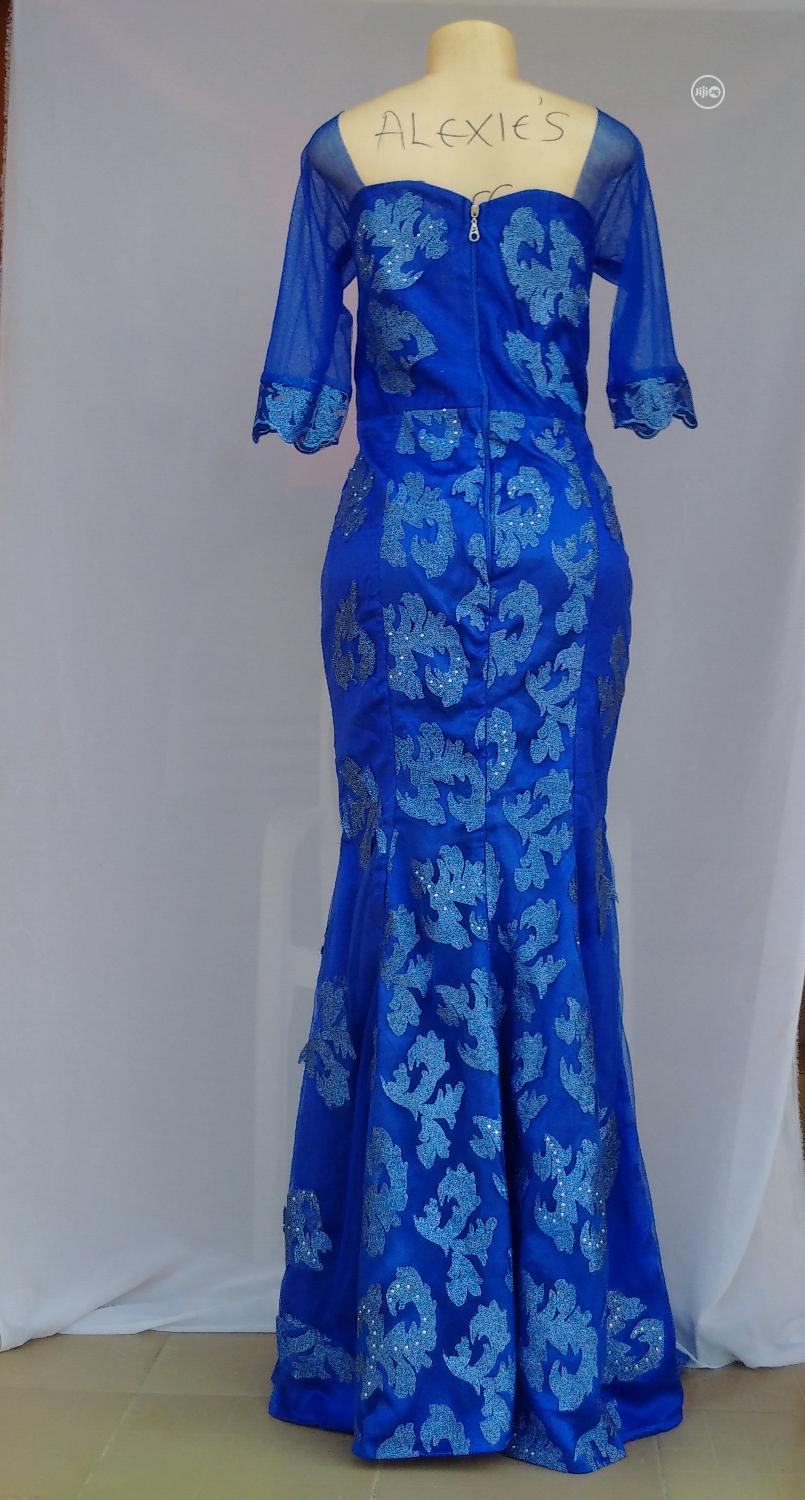 Royal Blue Plus Size Women's Dinner/Evening Gown - Size 14/15 | Clothing for sale in Kubwa, Abuja (FCT) State, Nigeria