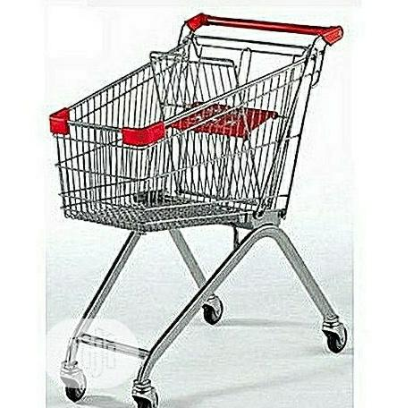 Archive: Supermarket Shopping Cart/ Shopping Trolley 100 Litres / 80kg