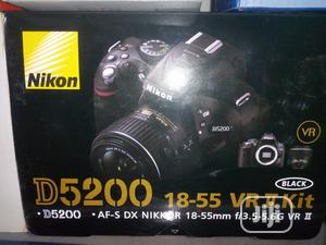 Nikon D5200. With 18-55mm Lens | Photo & Video Cameras for sale in Lagos State, Ojo