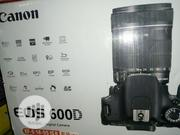Canon EOS 600D. With 18-55mm Lens | Photo & Video Cameras for sale in Lagos State, Ojo