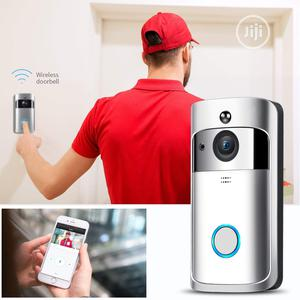 Wireless Wifi Smart Motion Detection Video Door Bell | Home Appliances for sale in Lagos State, Ikeja