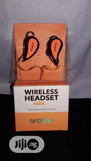 Oraimo Sport Wireless Stereo Headset With Mic- EB-01XR | Headphones for sale in Lagos State, Ikotun/Igando