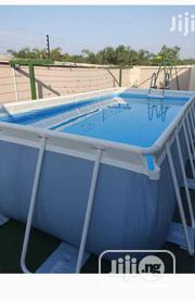 Intex Collapsible Mobile Swimming Pool 16ft X 8ft X 4ft Deep | Sports Equipment for sale in Lagos State, Amuwo-Odofin