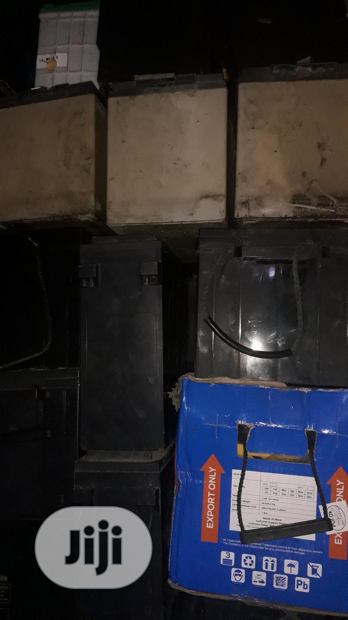 We Buy Scrap (Condemn) Inverter Batteries Lagos   Electrical Equipment for sale in Shomolu, Lagos State, Nigeria