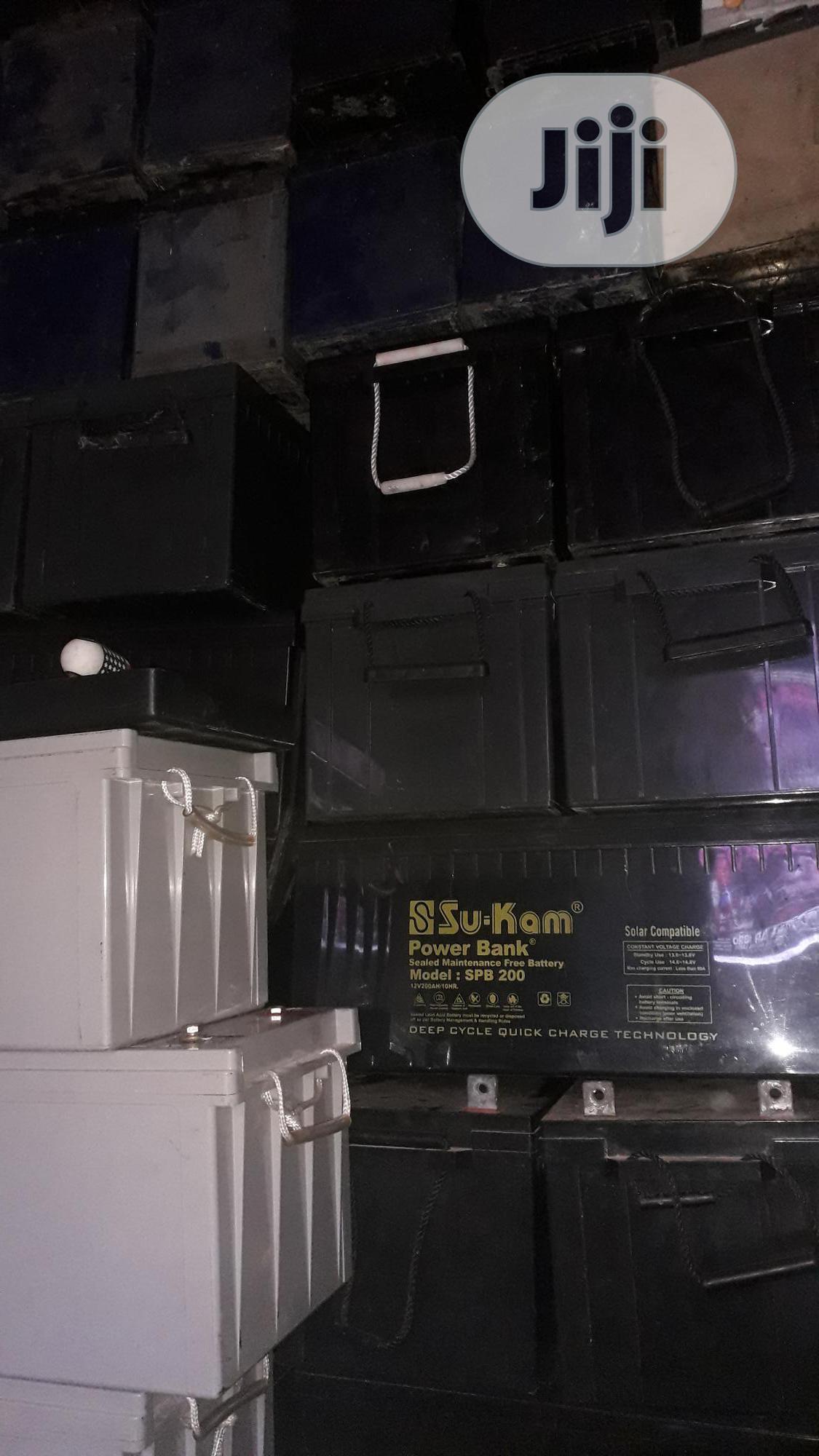 We Buy Scrap (Condemn) Inverter Batteries Lagos